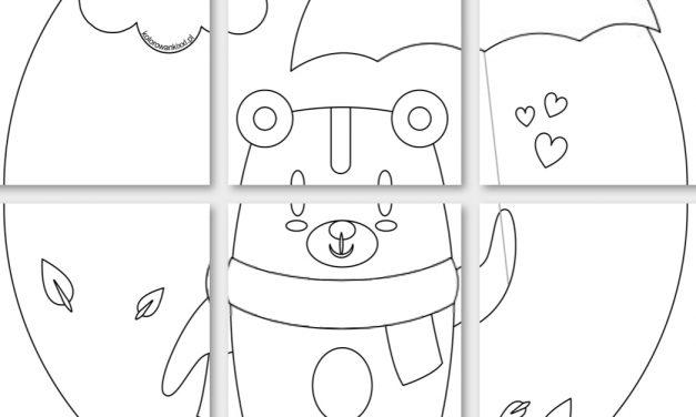 Kolorowanki XXL: Dzień Niedźwiedzia