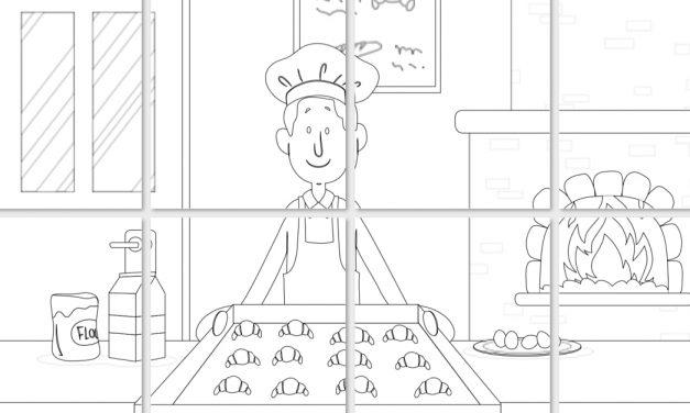 Kolorowanki XXL: Dzień piekarzy i cukierników