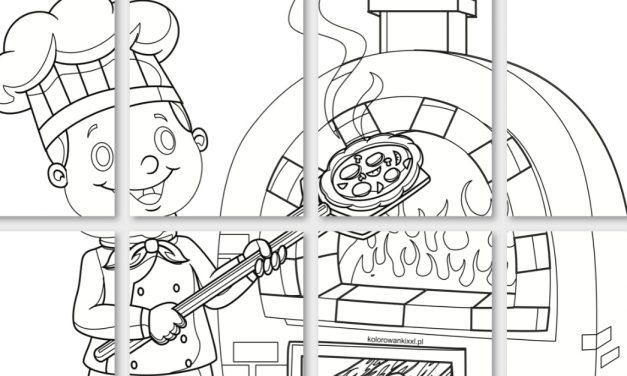 Kolorowanki XXL: Dzień Pizzy
