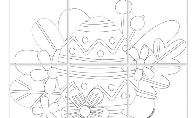Kolorowanki XXL: Wielkanoc