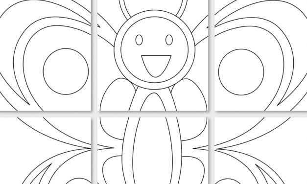 Kolorowanki XXL: Motyle